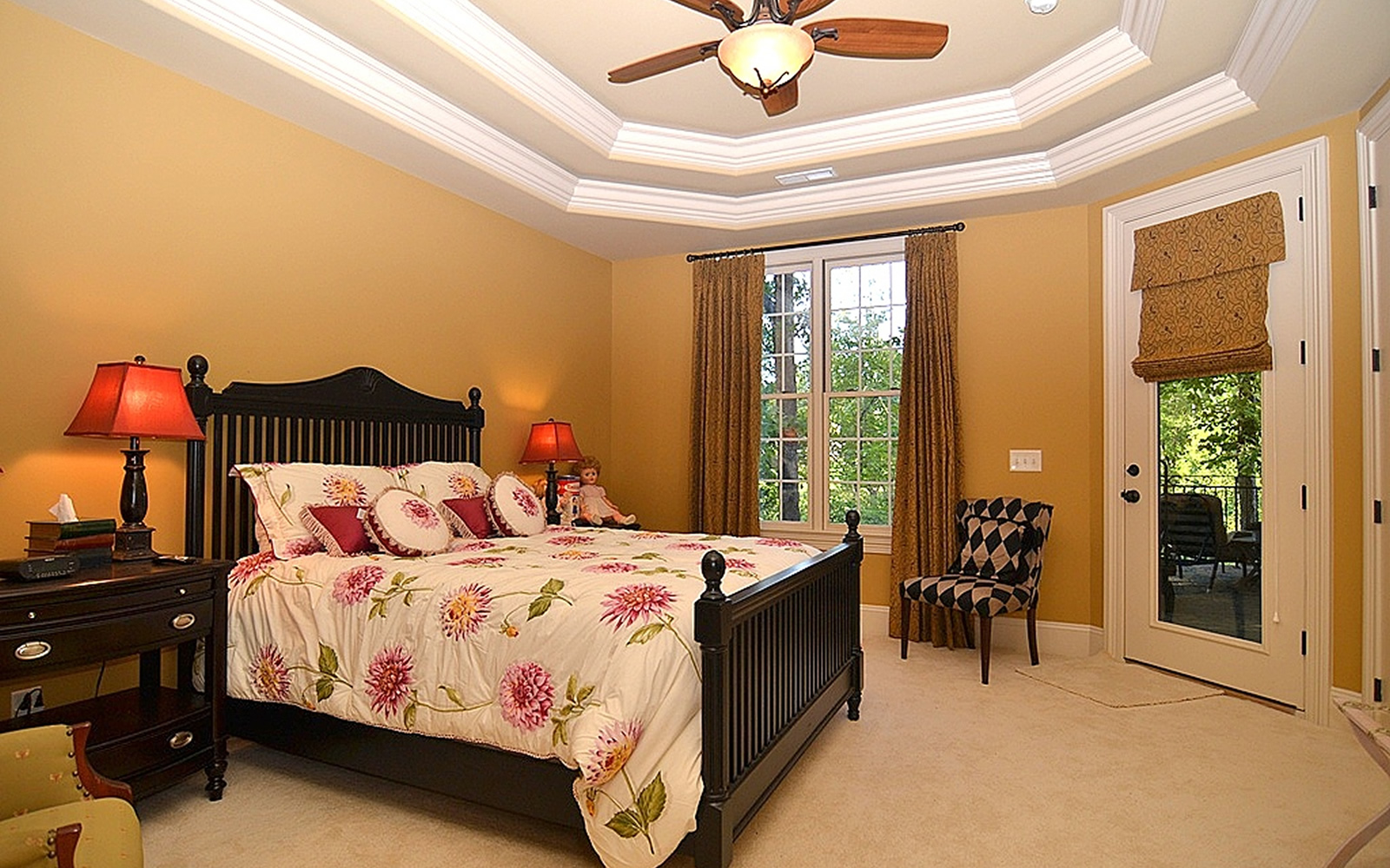 1317 Dunleigh Drive Bedroom